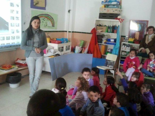 Charla en Colegio La Zeneta, Murcia